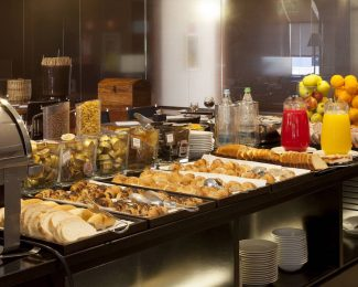 Free continental breakfast for Marriott Gold Elite