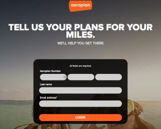 Aeroplan 150 Free Miles Tell Us Your Plans