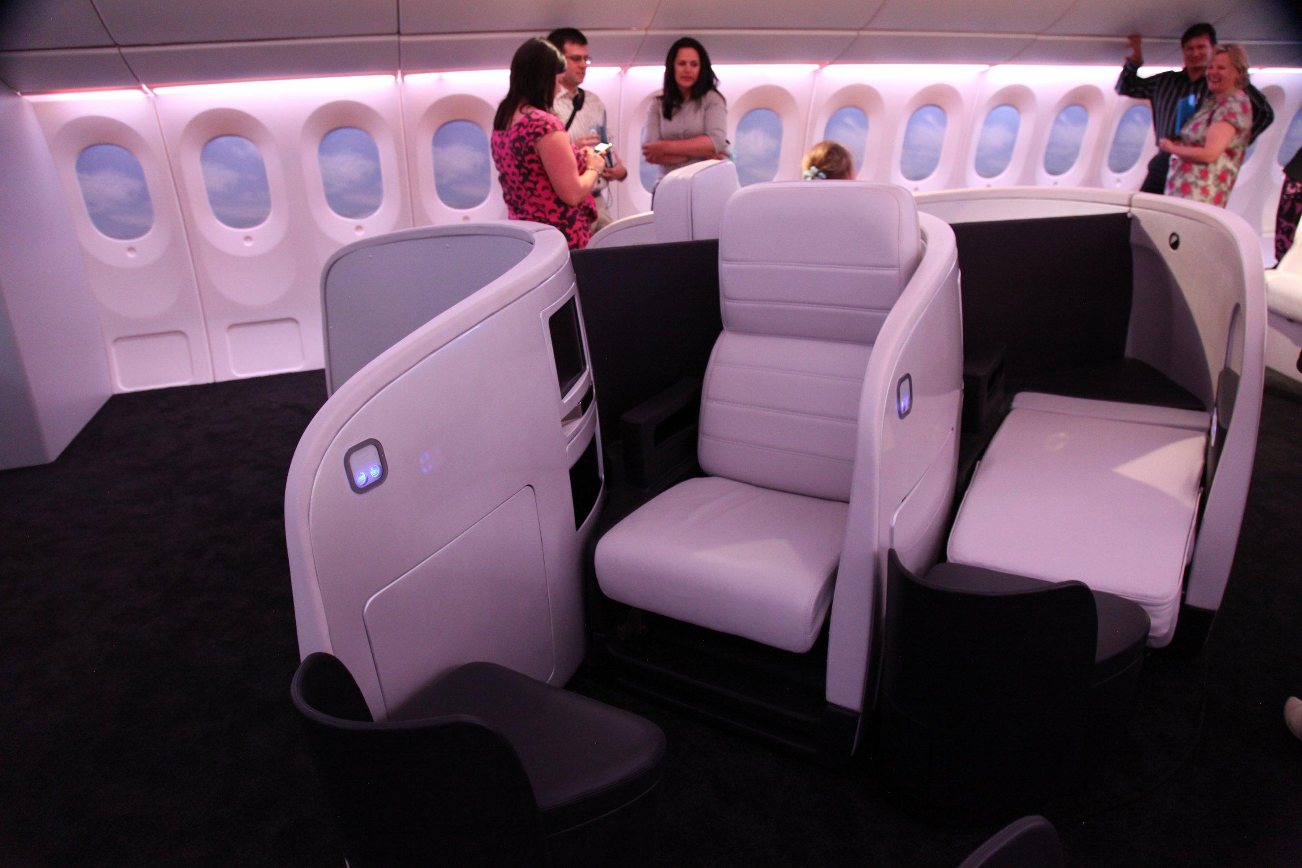 AirNZ Business Class