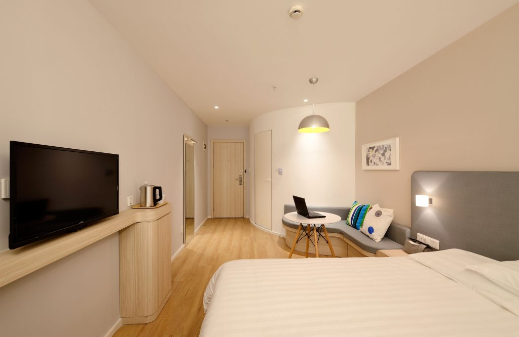 Bright Hotel Room