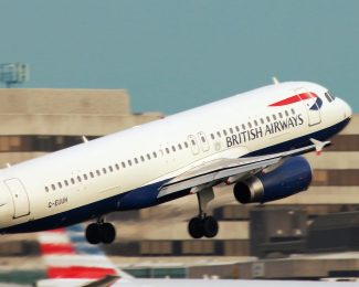 British Airways Aircraft Take Off