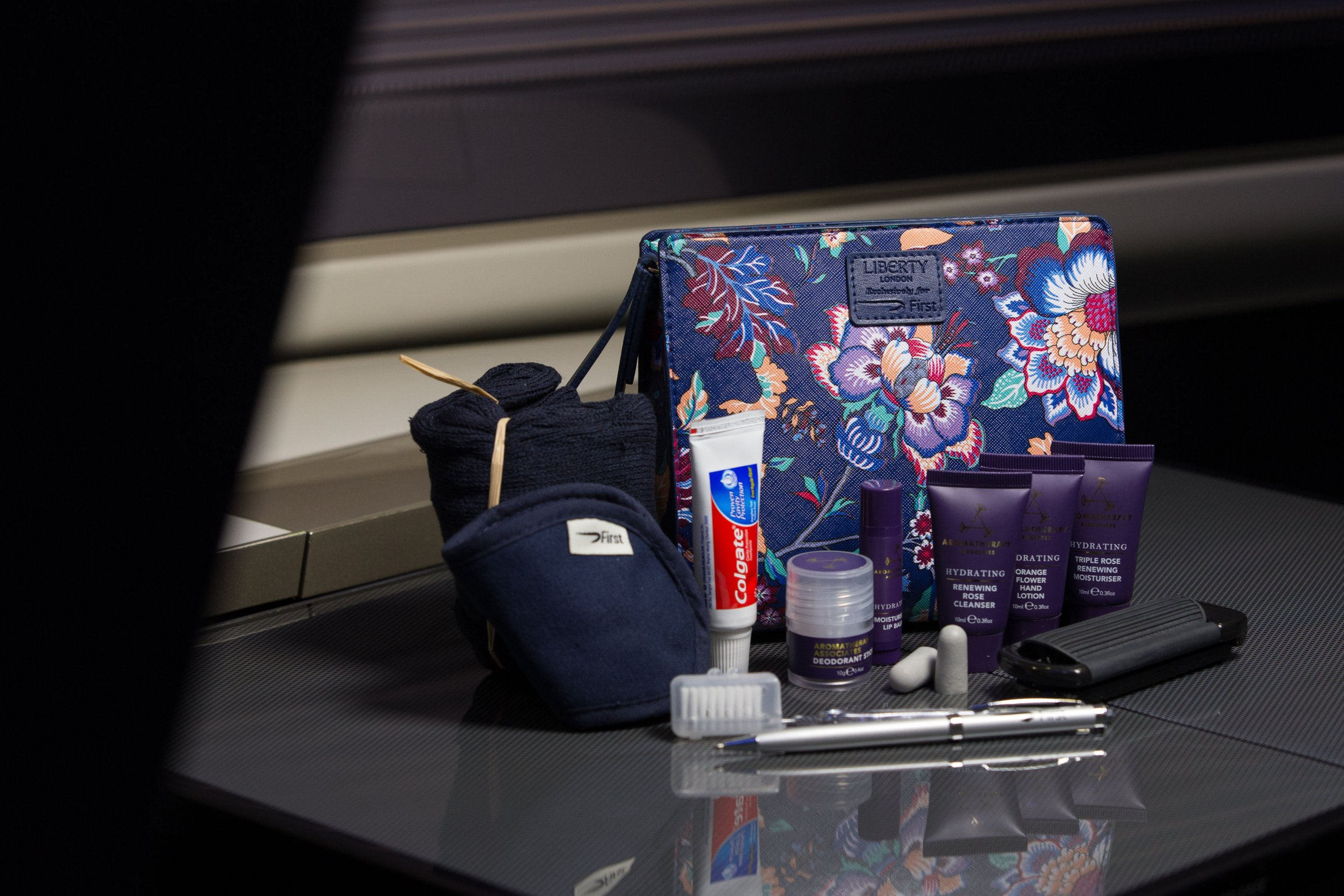 Britsh Airways Women's First Class Liberty Amenity Kits