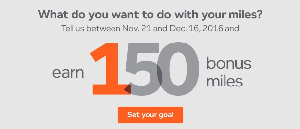 Earn 150 bonus miles Aeroplan