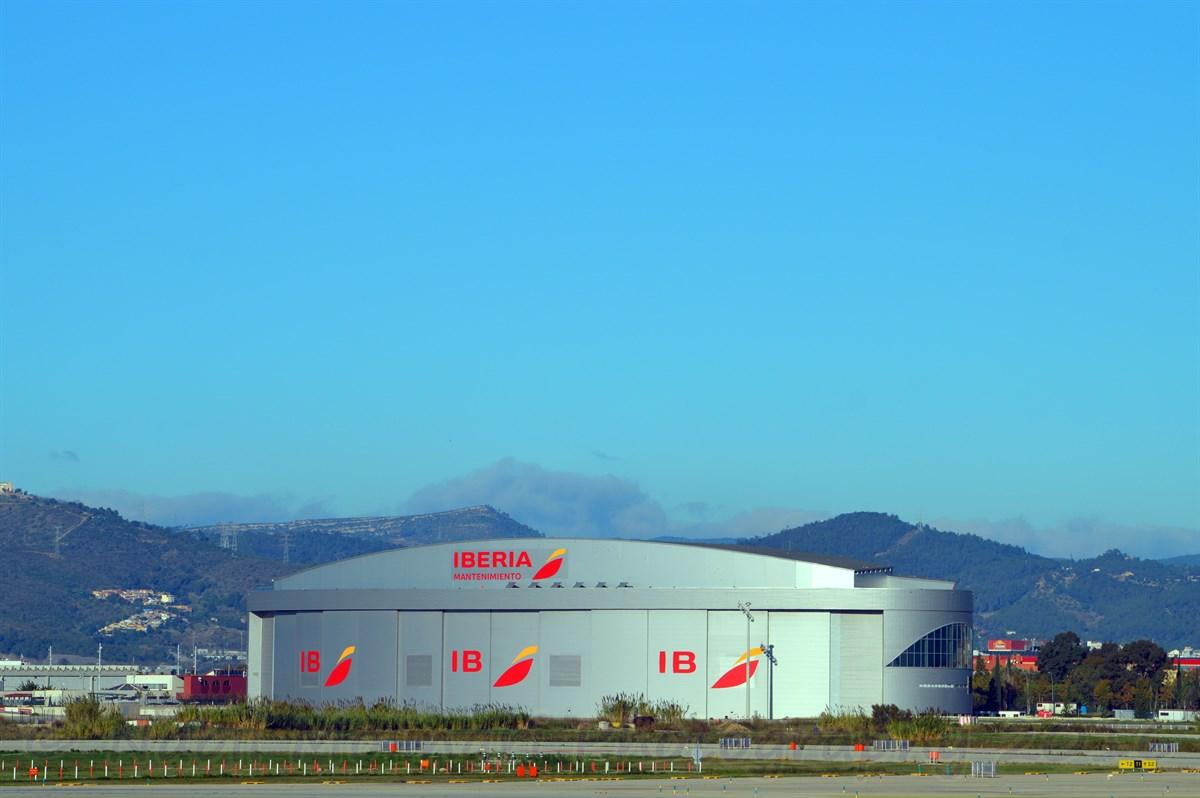 Iberia Hanger