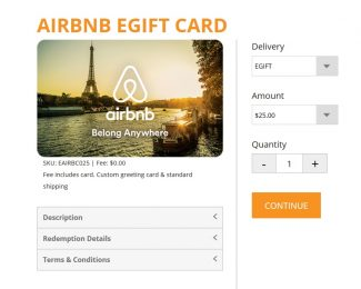 Airbnb Gift Card Promo