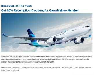 Garuda Indonesia Deal of the Year