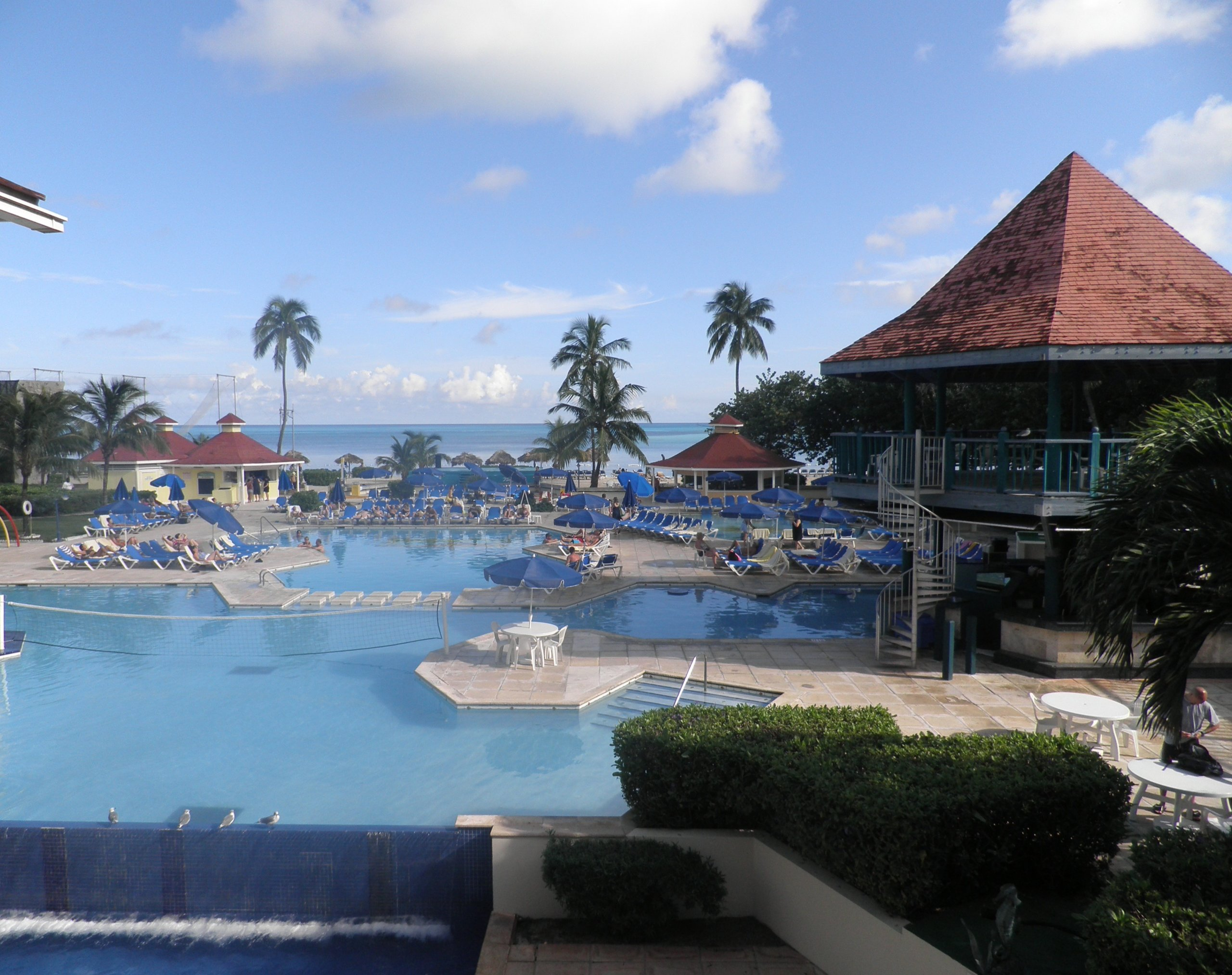 Hotel Pool and Beach
