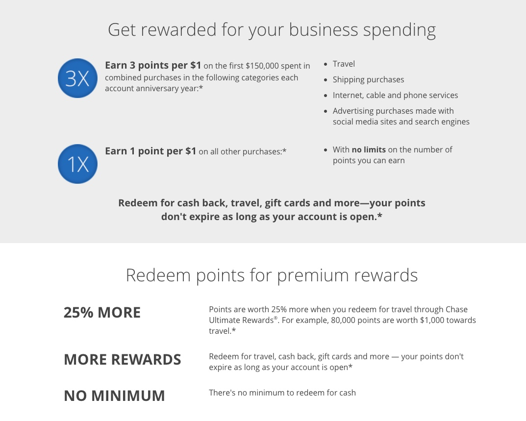 Chase Ink Business Preferred℠ Credit Card - Comprehensive Review ...