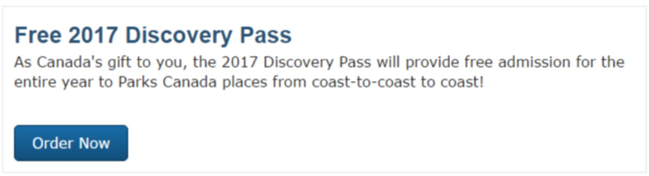 Canada Discovery Pass