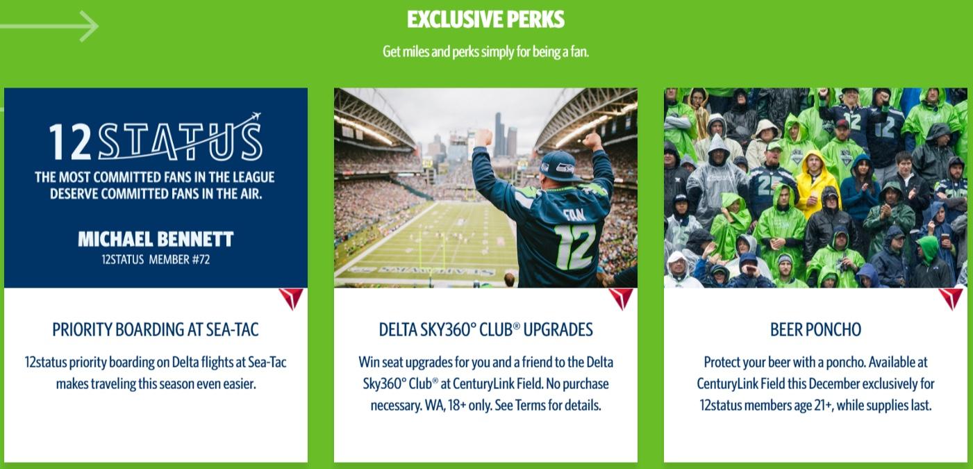 Delta 12 Status Perks