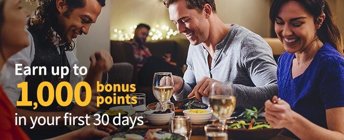 Dining Rewards - Southwest Airlines Signup