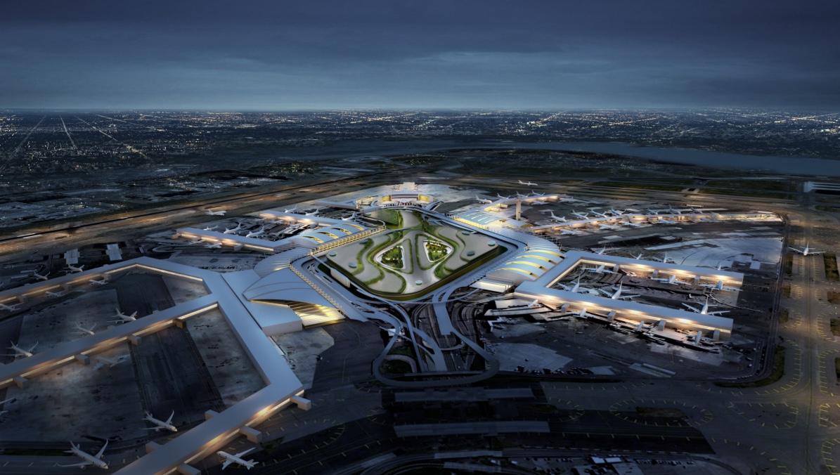 JFK 10 Billon Upgrade Mockup Night