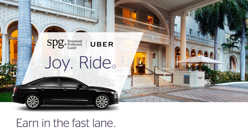 SPG and Uber Joy Ride Promotion