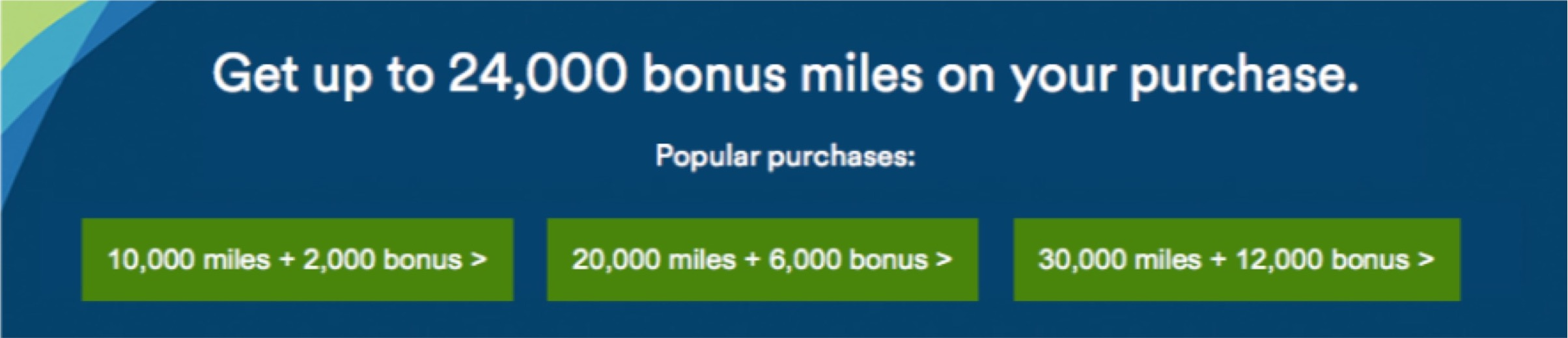 Alaska Mileage Plan Up to 40 Percent Bonus Purchase