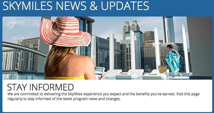 Delta SkyMiles News & Updates