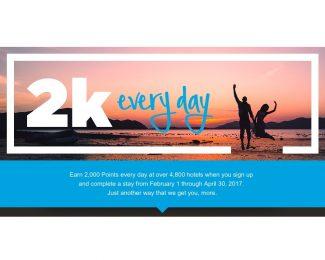Hilton 2k Every day Promotion