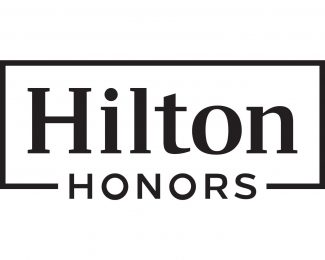 Hilton Honors Logo Black