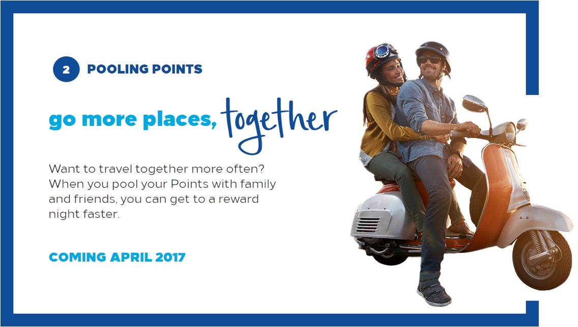 Hilton Honors Pooling Points