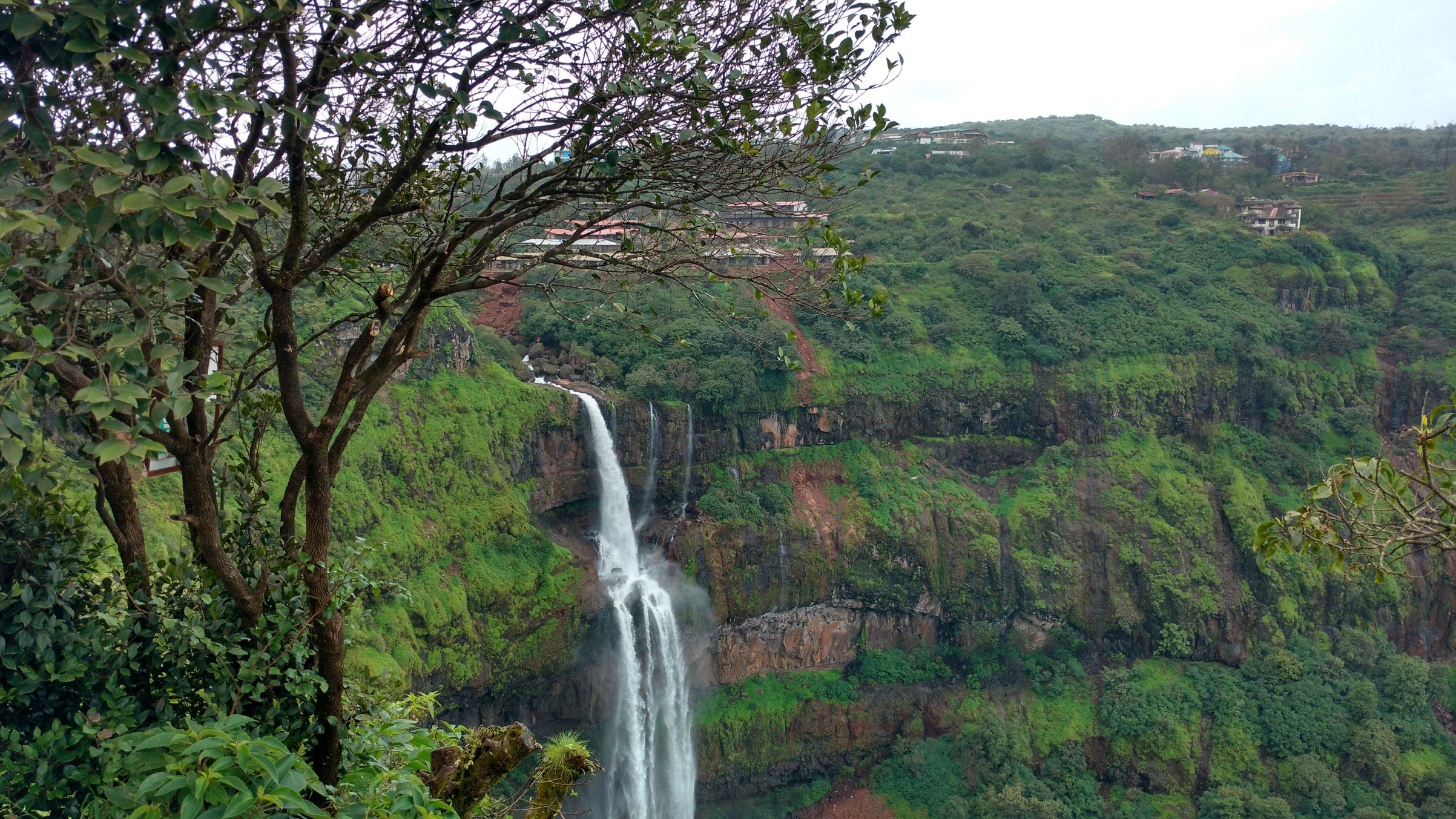 Panchgani India Waterfall
