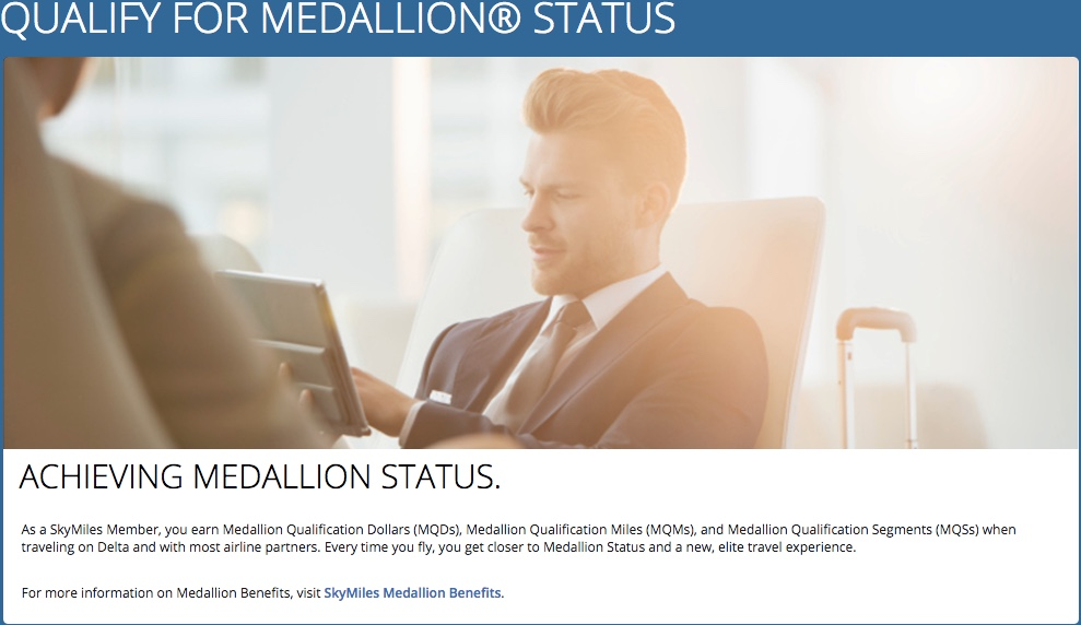 Qualify for Delta Medallion Status