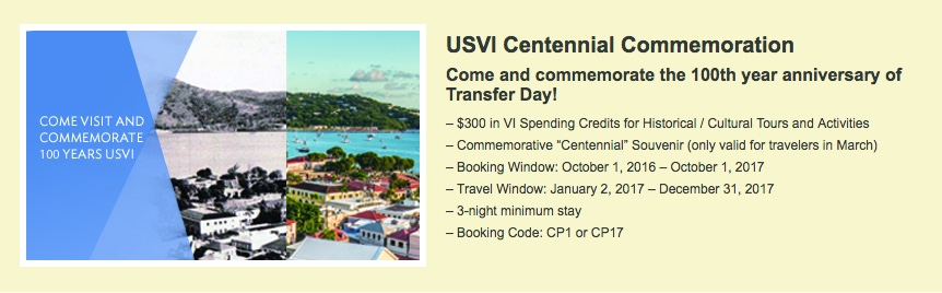 USVI Centennial Commemoration