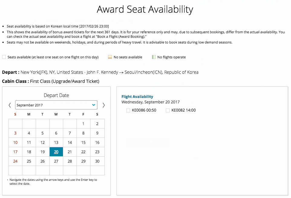 korean-skypass-search-award-availability