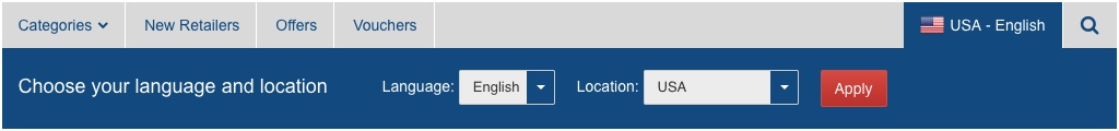 Avios Shopping Portal US English