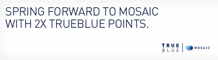 JetBlue TrueBlue 2X Points Spring 2017