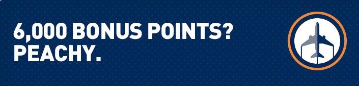 JetBlue TrueBlue 6000 Point Boston Atlanta Bonus