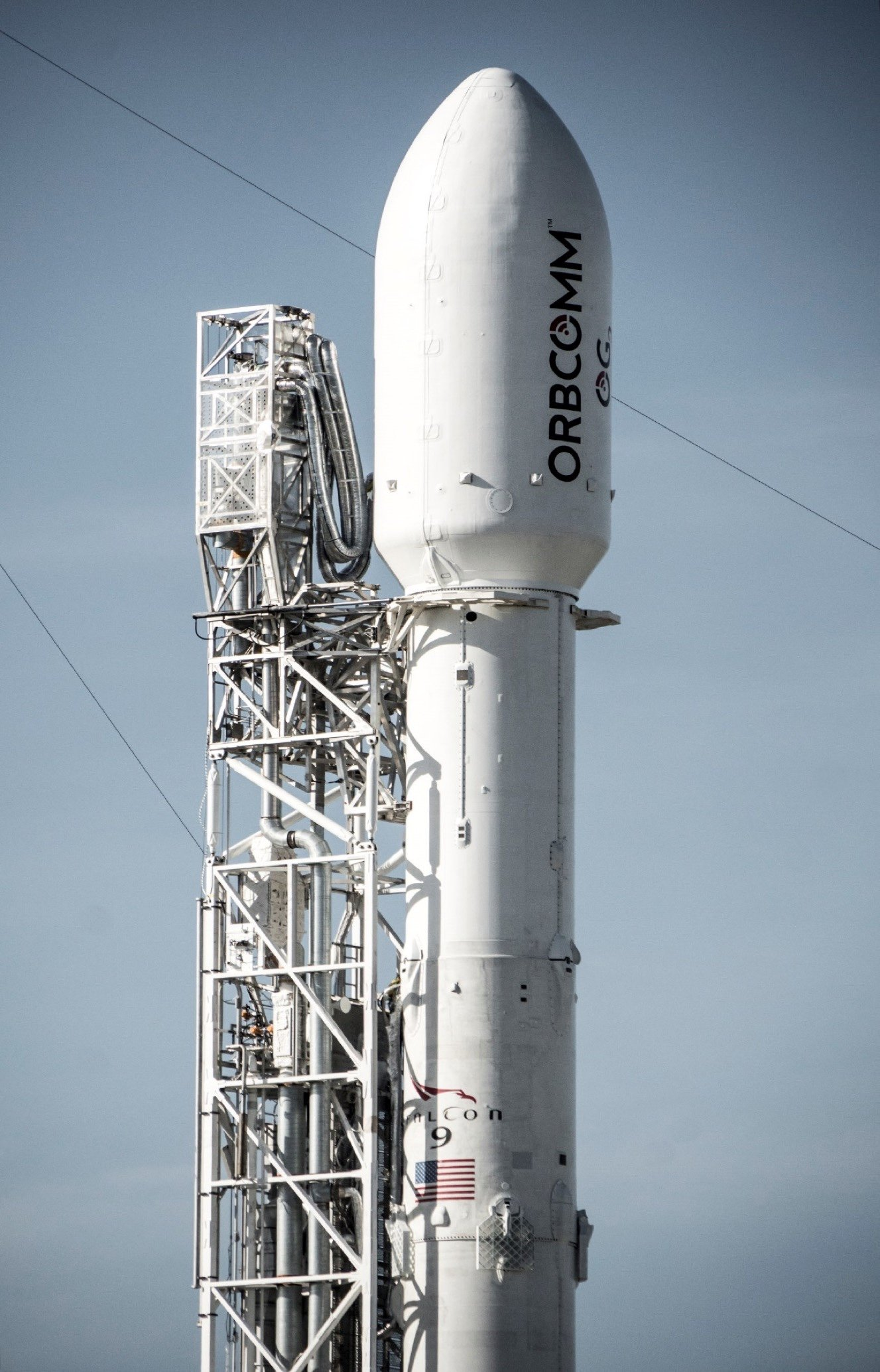 SpaceX on Launchpad