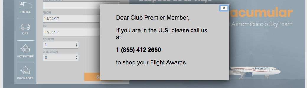 aeromexico-club-premier-award-booking-phone-number