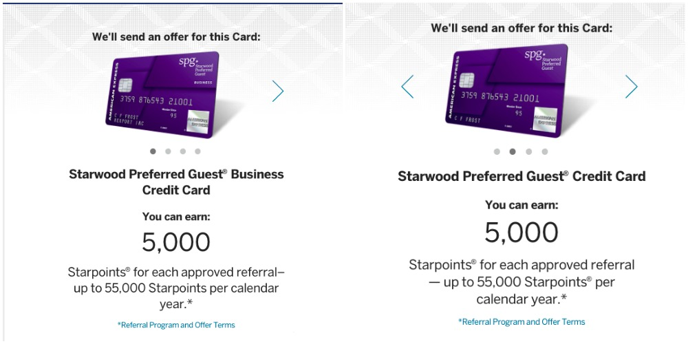 Earn over 100k bonus spg points with spg amex referrals spg amex referrals colourmoves