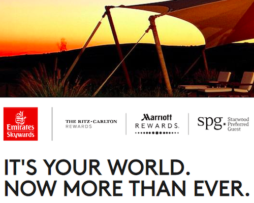 Double Dip On Points With SPG Airline Partners