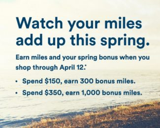 April 2017 Shopping Portal Bonuses United and Alaska