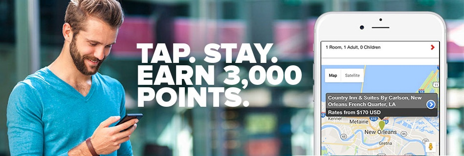 Club Carlson Spring 2017 3000 Point Bonus