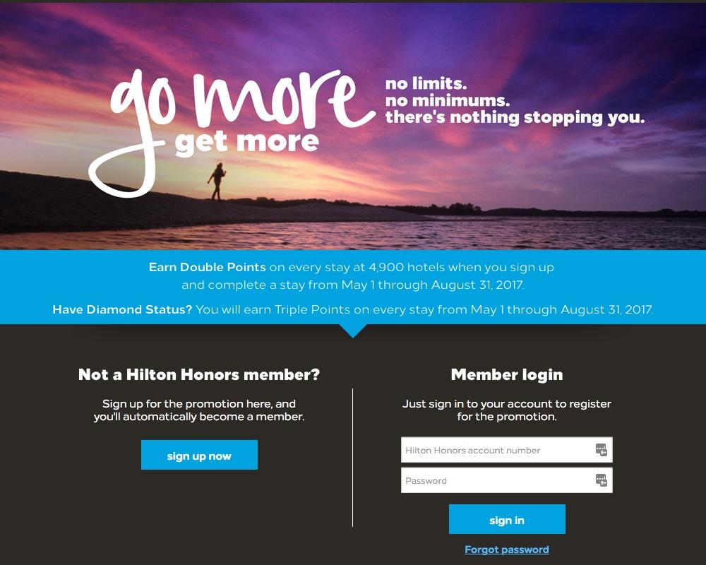 Hilton Go More Get More