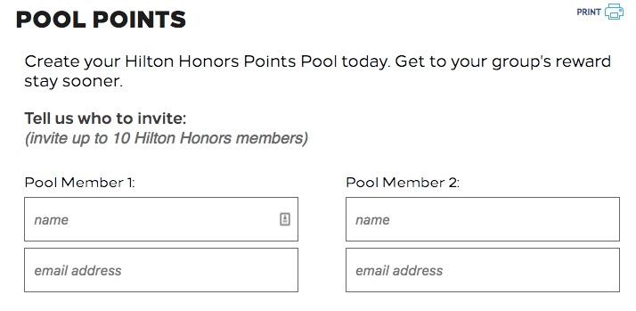 Hilton Honors Pool Points 01