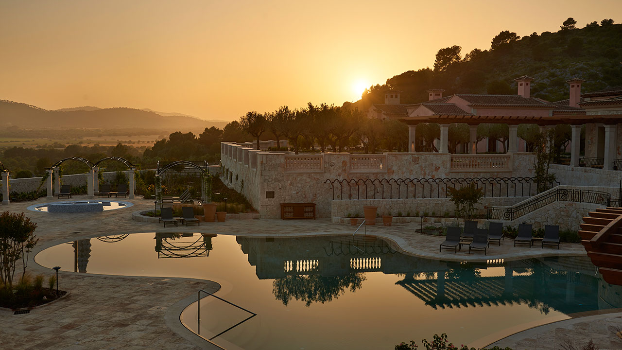 Park Hyatt Mallorca Pool Sunset