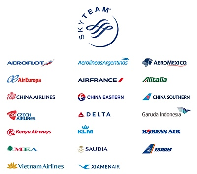 SkyTeam Members