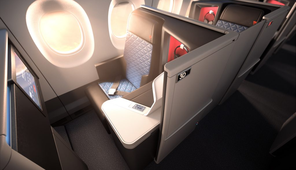 Delta SkyMiles Redemption - Delta One Suites on the A350