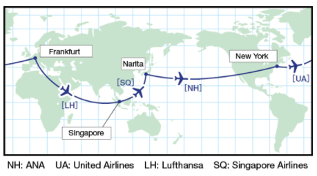 ANA-RTW-Award-Route