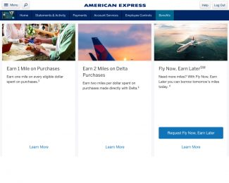 American Express Delta SkyMiles Fly Now Pay Later