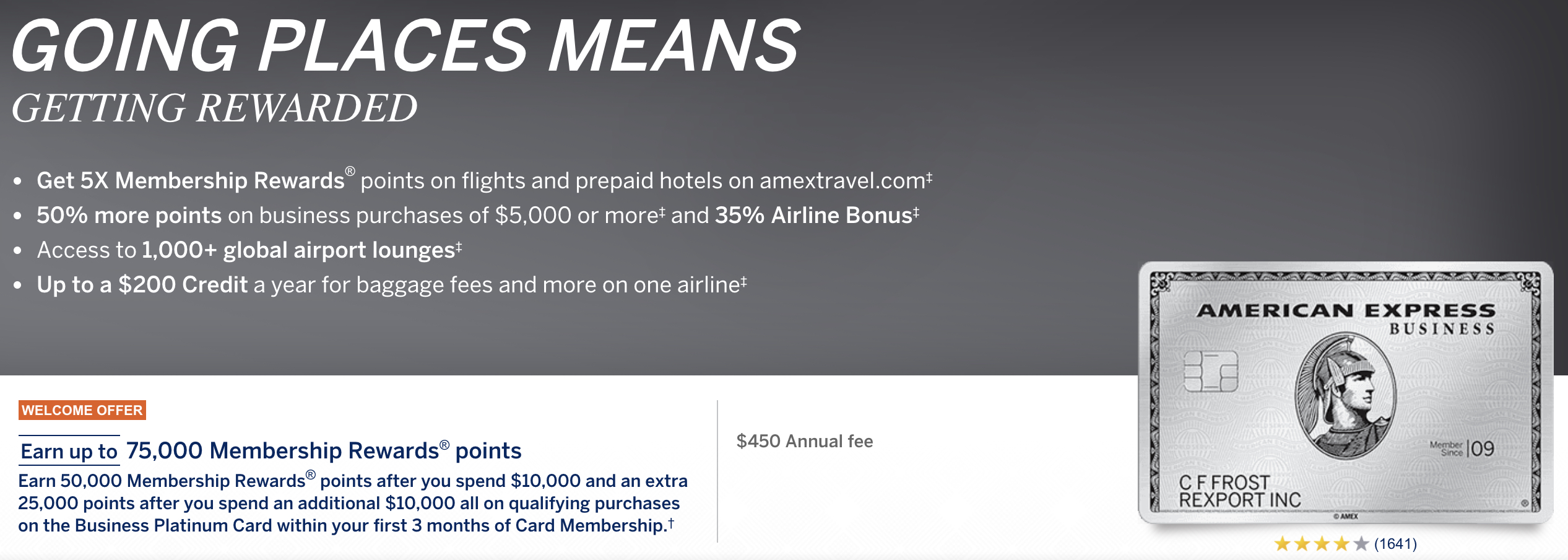 Amex platinum card reward points best business cards for Mercedes benz american express platinum