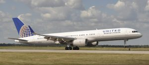 United P.S. 757 Takeoff