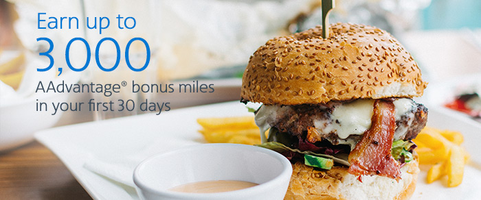 AAdvantage Dining 3000 Mile Promo August 2017