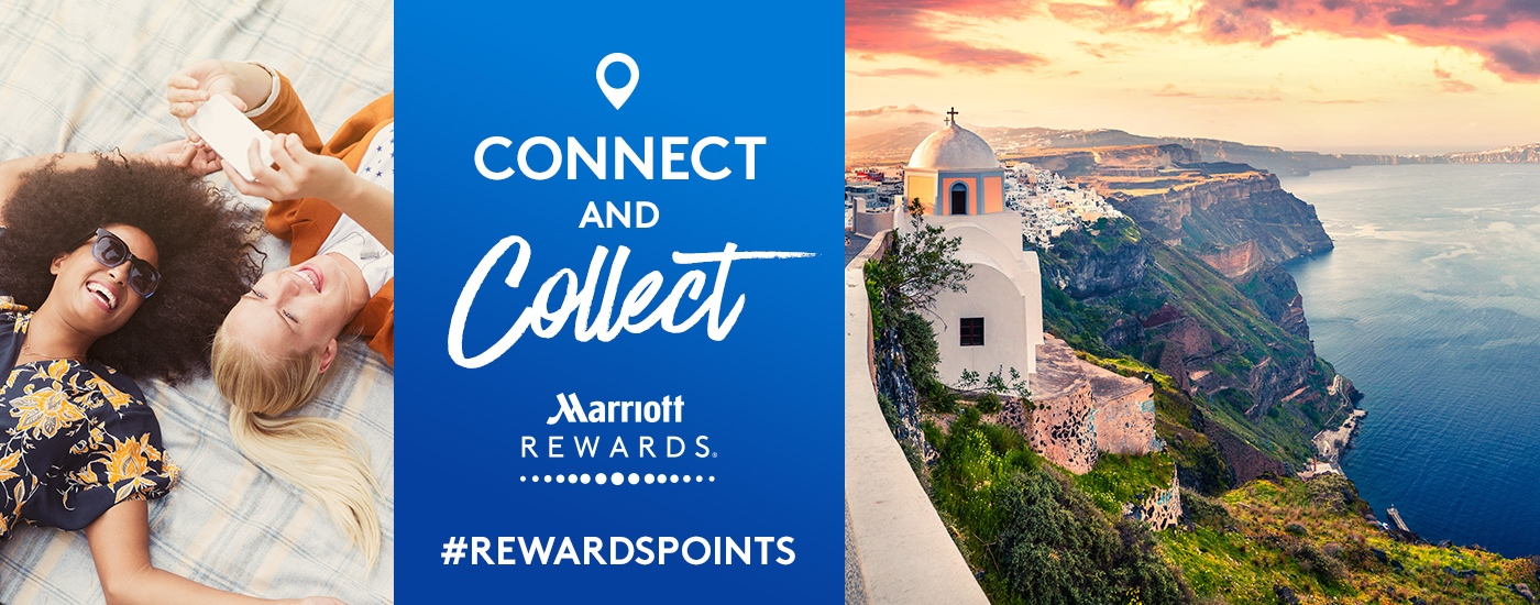 Connect and Collect with Marriott Rewards