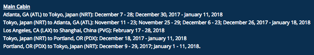 Delta Flash Sale August 2017 Blackout Dates