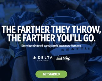 Delta and Seattle Seahawks Bonus Miles 2017 - Featured