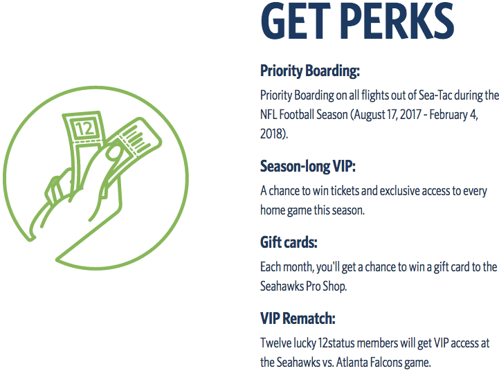 Delta and Seattle Seahawks Bonus Miles 2017 - Get Perks