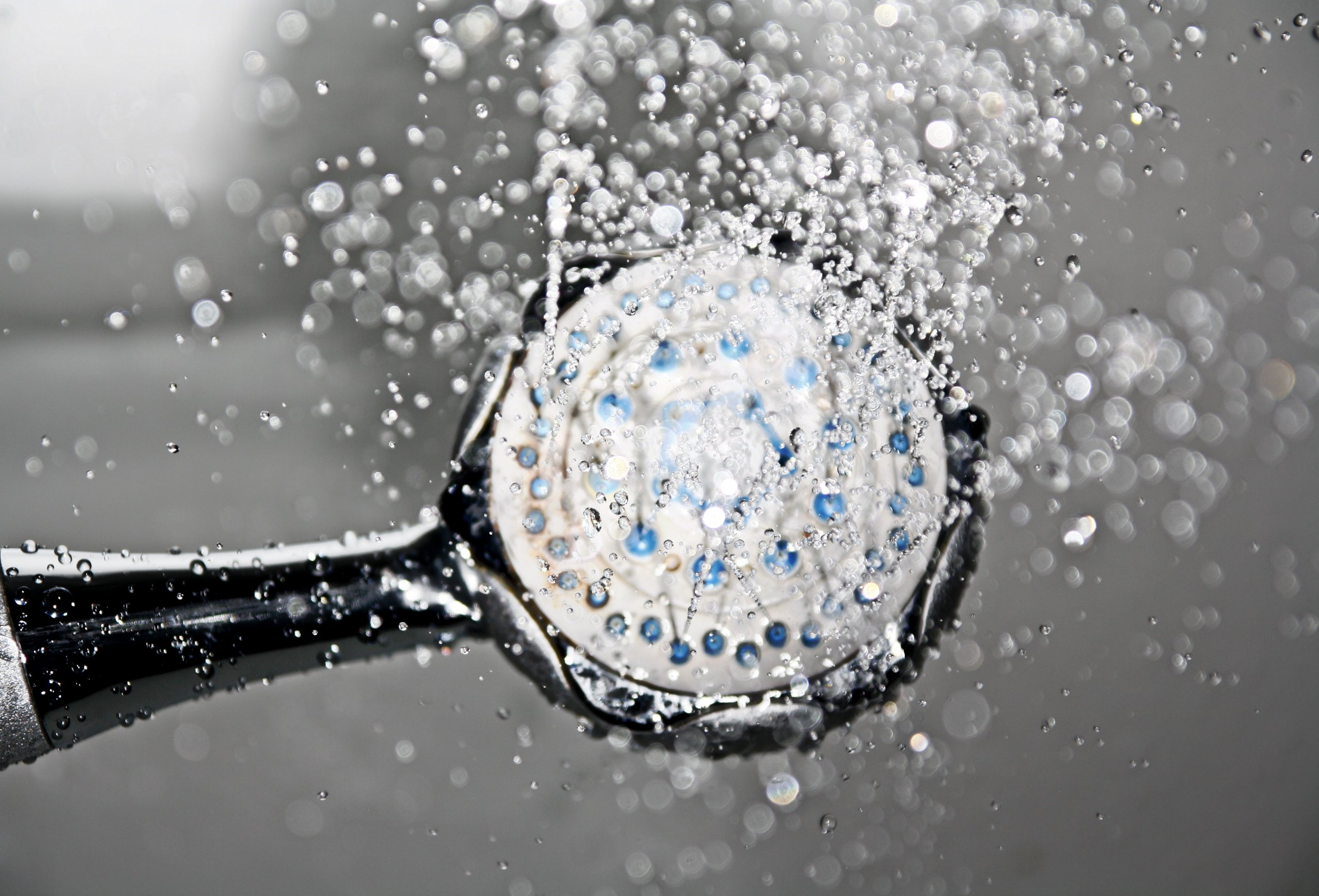 Shower Head Water